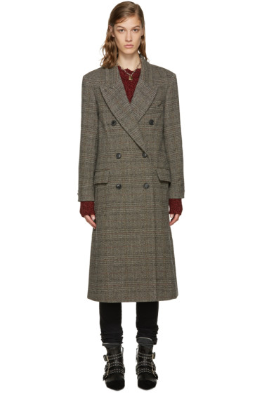 Isabel Marant - Multicolor Oversized Flint Coat