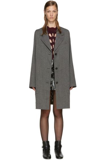 Isabel Marant - Grey Wool Jagger Coat