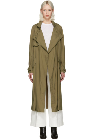 Isabel Marant - Khaki Dracen Trench Coat