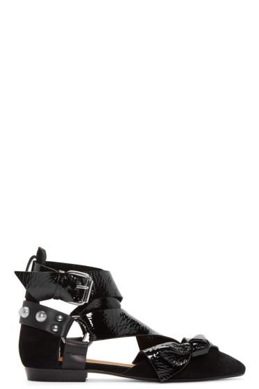 Isabel Marant - Black Lindon Ballerina Flat