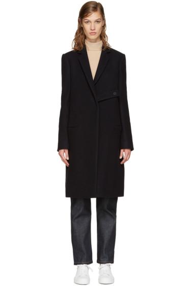 Studio Nicholson - Navy Heffe Coat
