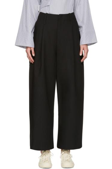Studio Nicholson - Black Brunel Trousers