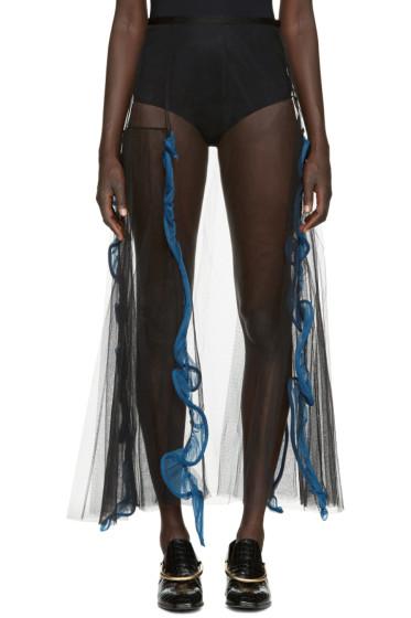 Toga - Black Tulle Skirt