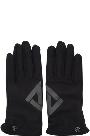 11 by Boris Bidjan Saberi - Black Logo Gloves