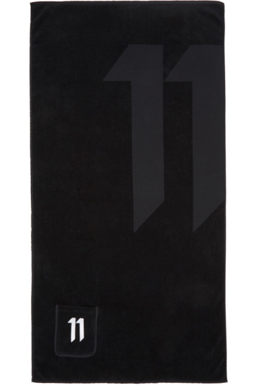 11 by Boris Bidjan Saberi - Black Logo Towel