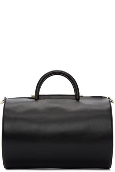 Building Block - Black Cylinder Duffle Bag