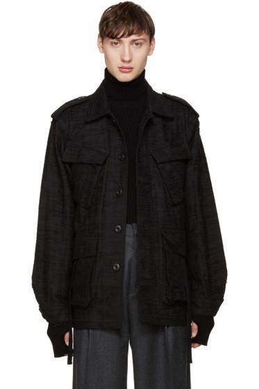 Johnlawrencesullivan - Black Unravelling Jacket