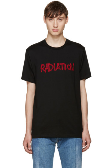 Johnlawrencesullivan - Black 'Radiation' T-Shirt
