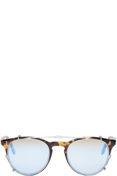 Garrett Leight - Tortoiseshell Clip-On Milwood Glasses