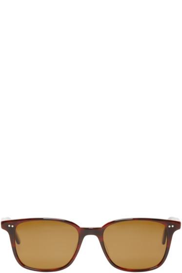 Garrett Leight - Tortoiseshell Bryn Mawr Sunglasses