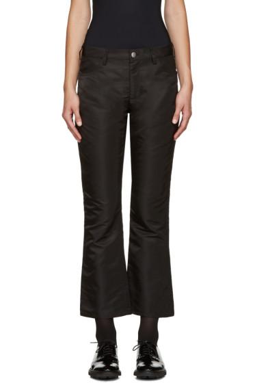 Nomia - Black Flight Satin Trousers