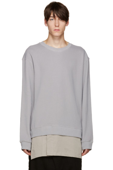 D by D - Grey Layered Pullover
