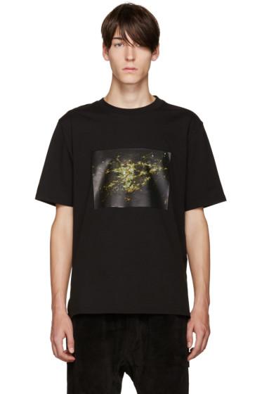 D by D - Black Graphic Print T-Shirt