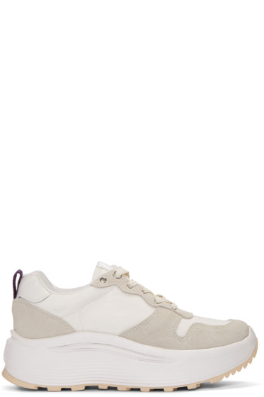 Eytys - Off-White Jet Combo Sneakers