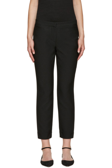 Erdem - Black Sienna Fitted Trousers