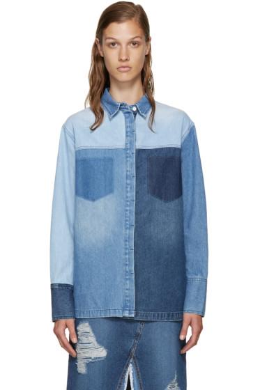 SJYP - Blue Multidenim Shirt