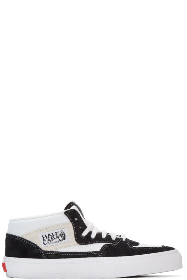 Gosha Rubchinskiy - Black & White Half Cab LX Vans Edition High-Top Sneakers