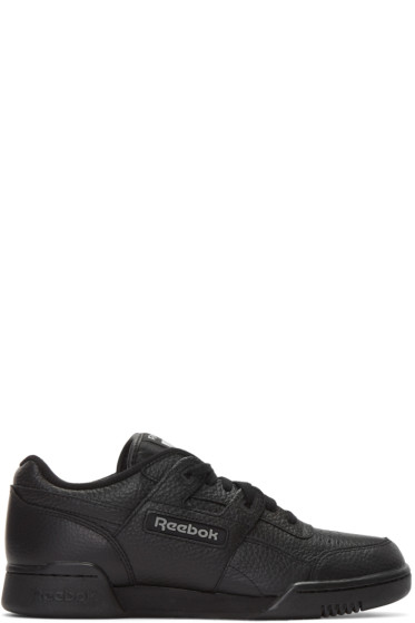 Gosha Rubchinskiy - Black Reebok Classics Edition Workout Sneakers