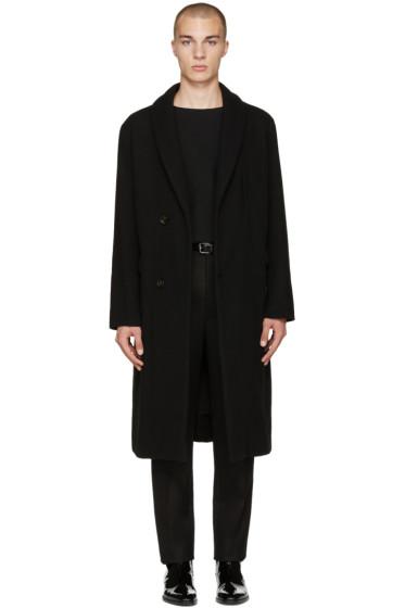 Lemaire - Black Kaftan Coat
