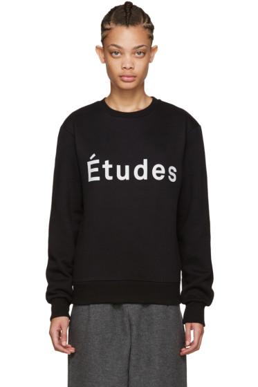 Etudes - Black Etoile Logo Sweatshirt