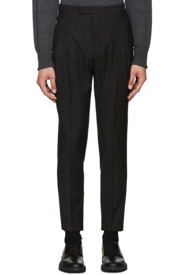 Etudes - Black Speckled Tomorrow Trousers