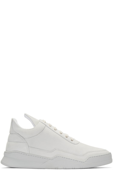 Filling Pieces - Grey Ghost Sneakers