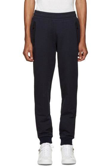 Versace Underwear - Navy Logo Back Lounge Pants