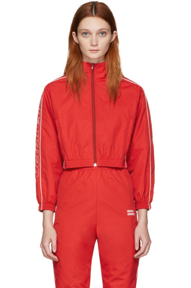 Vetements - Red Track Jacket