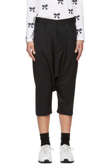 Comme des Garçons Girl - Black Wool Sarouel Trousers