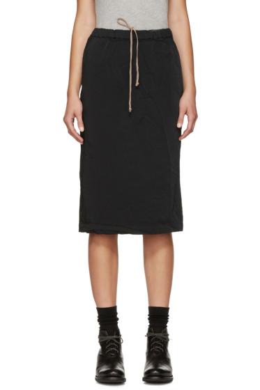 Comme des Garçons Comme des Garçons - Black Elasticized Waist Skirt