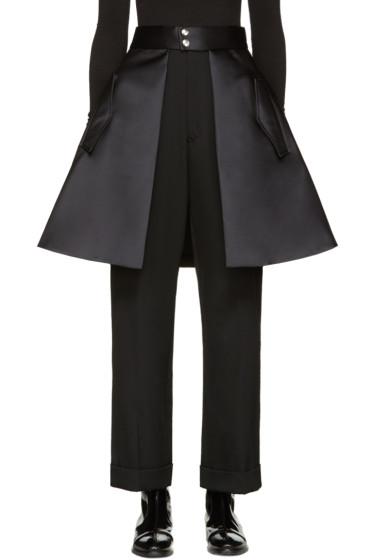 Noir Kei Ninomiya - Black Skirt Belt