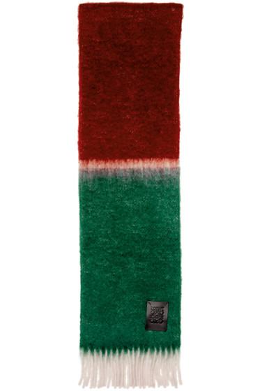 Loewe - Tricolor Window Scarf