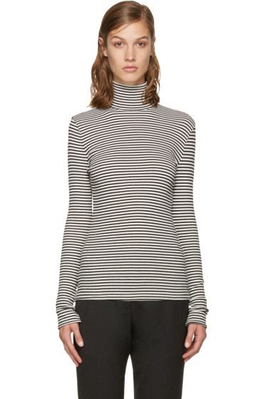 Harmony - Black & White Theresa Turtleneck