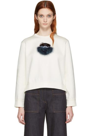 Fendi - Ivory 'Fendi Wonders' Pullover