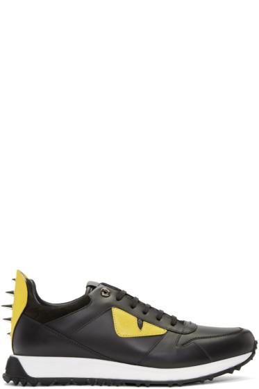 Fendi - Black Bag Bugs Sneakers