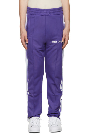 Palm Angels - Purple Logo Track Pants