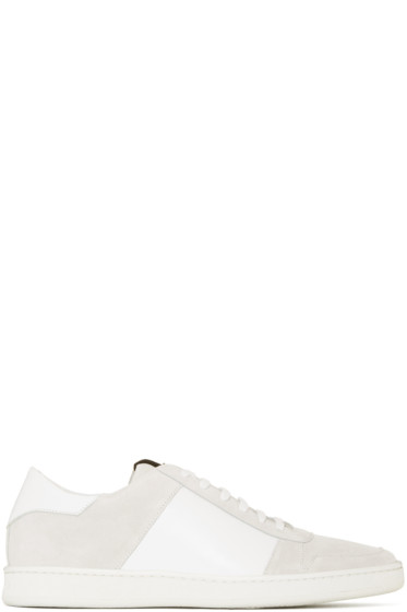 Palm Angels - White Retro Sneakers