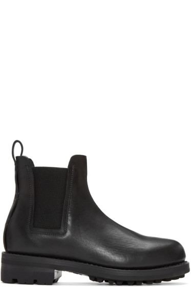 Feit - Black Leather Chelsea Boots