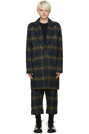Song for the Mute - Green Oversize Raglan Sleeve Coat