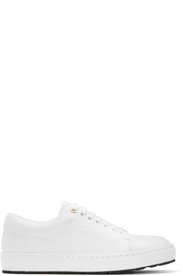 Wooyoungmi - White Leather Sneakers