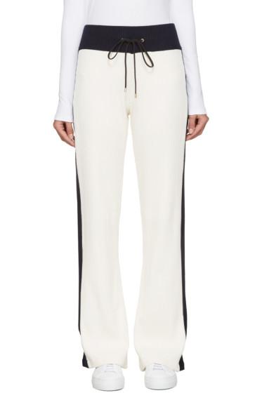 Atea Oceanie - Ivory Ribbed Lounge Pants