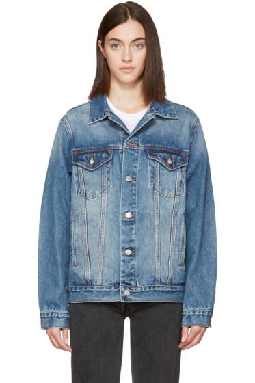Earnest Sewn - Indigo Denim Oversized Cecil Jacket