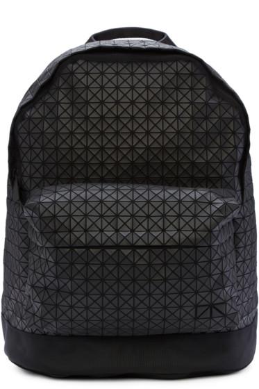 Bao Bao Issey Miyake - Black Matte Geometric Backpack