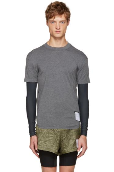 Satisfy - Grey Long Distance T-Shirt