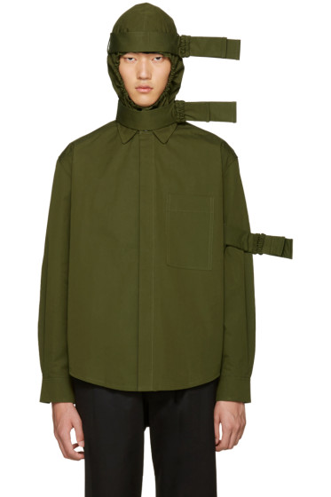 Craig Green - Green Hooded Straps Jacket
