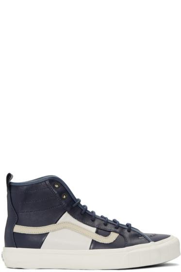 Vans - Navy Taka Hayashi Edition TH Court HI LX Sneakers