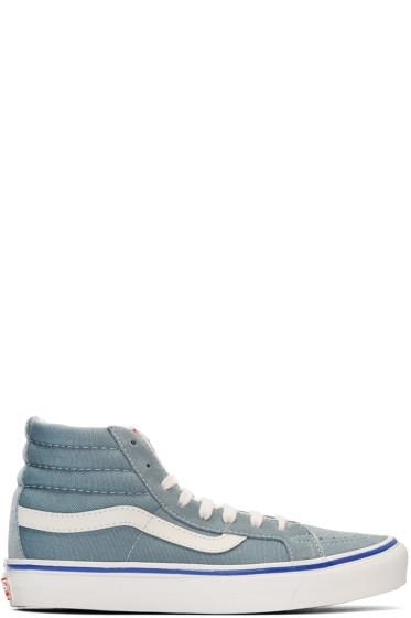 Vans - Blue Suede OG Sk8-Hi LX Sneakers