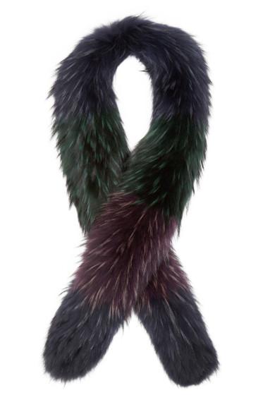 Emilio Pucci - Multicolor Fur Scarf