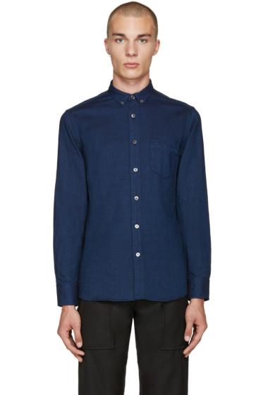 Blue Blue Japan - Indigo Dobby Shirt