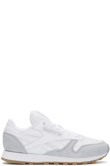 Reebok Classics - White CL Split Personality Sneakers